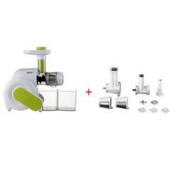 Slow Juicer Vertical Oder Horizontal : ElectriQ HSL600 Horizontal Slow Juicer + 6 in 1 Accessory Pack Appliances Direct