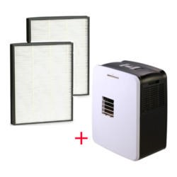 AirCube MAX 5-in-1 30 Litre per day Digital Dehumidifier + Filter Pack Bundle
