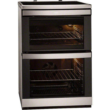 aeg competence double oven instructions