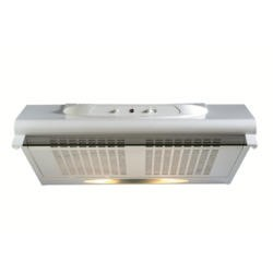 GRADE A3  - New World 50cm Conventional Hood with Glass Visor - White