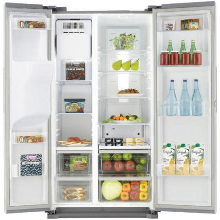 GRADE A2 - Samsung RS7567BHCSP H-series American Fridge Freezer With Ice And Water Dispenser Silver