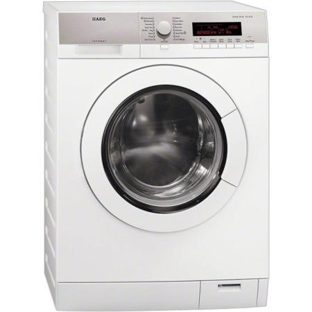 Display AEG 8 Series 1600rpm Freestanding Washing Machine