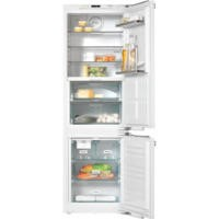 GRADE A2  - Miele KFN37692iDE 70-30 Frost Free Integrated Fridge Freezer With Ice Maker