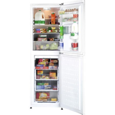 Beko CFD5834APW 149L 183x55cm Wide Freestanding Fridge Freezer With Water Dispenser White