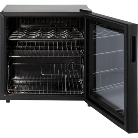 LEC DF50B Black Compact Counter Top Drinks Cooler - Black