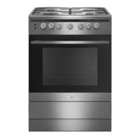 Amica 608GG5MsXx 608GG5MsXx 60cm Single Cavity Gas Cooker - Stainless Steel