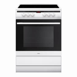 Amica 608CE2TaW 608CE2TaW 60cm Single Cavity Electric Cooker With Ceramic Hob - White