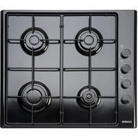 Beko HIZG64120SB 60cm Wide Gas Hob Black