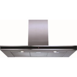 CDA EVP101SS Linear 100cm Wide Chimney Cooker Hood Stainless Steel