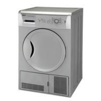 Beko DCU7230S Sensor Driven 7kg Freestanding Condenser Tumble Dryer - Silver