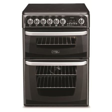 Hotpoint CH60EKKS Kendal Double Oven 60cm Electric Cooker Black