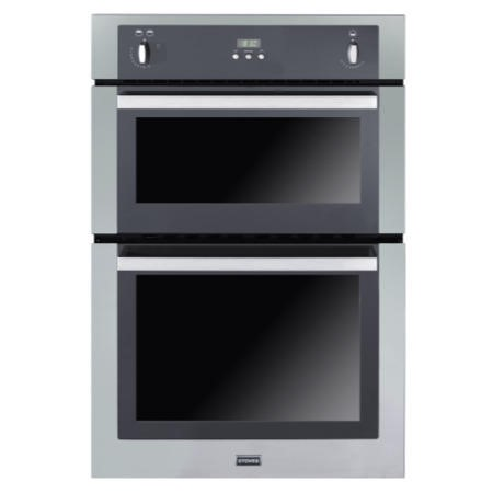 Stoves SGB900PS Gas Built In Double Oven - Stainless Steel