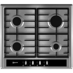 Neff T23S36N0GB Series 2 60cm Front Control Four Burner Gas Hob - Stainless Steel