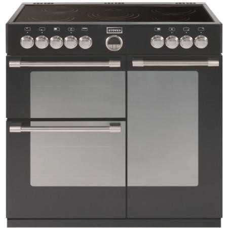 Stoves Sterling 900E 90cm Electric Range Cooker - Black