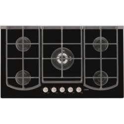 AEG HG995440NB Designer Five Burner Gas-on-glass Hob in Black