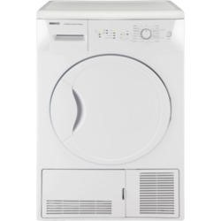 Beko DCU7230W Sensor Driven 7kg Freestanding Condenser Tumble Dryer White