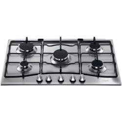 Hotpoint GC750X 75cm Wide Five Burner Gas Hob - Stainless Steel