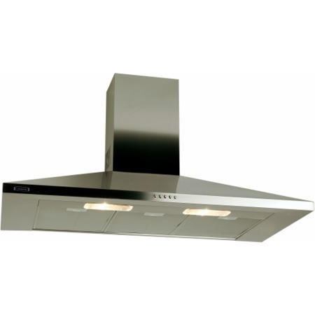 Leisure H91PX 90cm Chimney Cooker Hood Stainless Steel