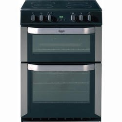 Belling FSE60DOP 60cm Freestanding Double Oven Electric Cooker in Stainless Steel