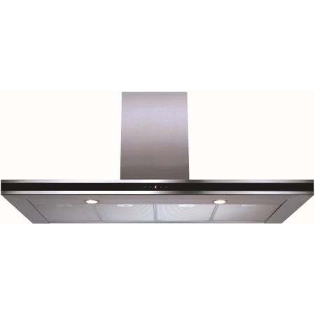 CDA EVP121SS Linear 120cm Wide Chimney Cooker Hood Stainless Steel