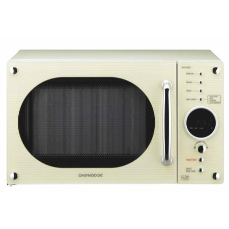 Daewoo KOR6N9RC 20 Litre Freestanding Microwave Oven Cream