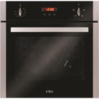 CDA SC222SS Four Function Electric Built-in Single Fan Oven With Touch Control Timer - Stainless Steel