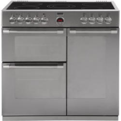 GRADE A3  - Stoves Sterling 900E 90cm Electric Range Cooker Stainless Steel