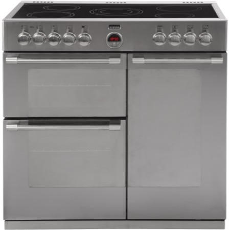 Stoves Sterling 900E 90cm Electric Range Cooker Stainless Steel