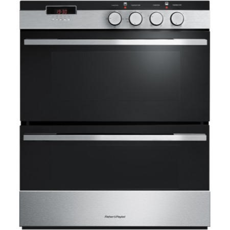 Fisher & Paykel OB60HDEX3 89423 Multifunction Electric Built-under Double Oven Brushed Stainless Steel