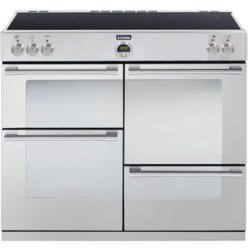 Stoves Sterling 1000Ei Stainless Steel 100cm Electric Range Cooker with Induction Hob