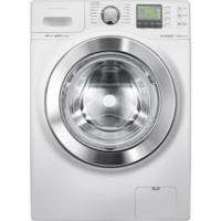 Samsung WF1114XBD EcoBubble VRT Quiet Drive 11kg 1400rpm White Freestanding Washing Machine
