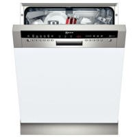 Neff S41M63N1GB 13 Place Semi Integrated Dishwasher With Stainless Steel Panel