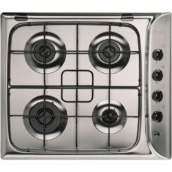 Indesit PIM640ASIX 60cm 4 Burner Gas Hob - Stainless Steel