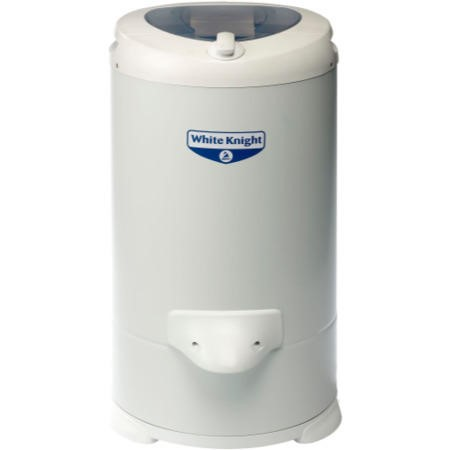 White Knight 28009W 4.1kg Gravity Drained White Spin Dryer