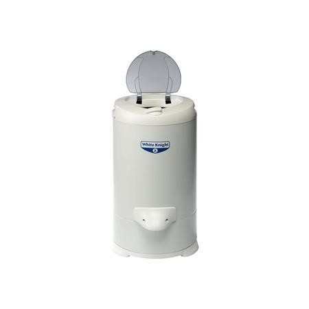 White Knight 28009WP 4.1kg Gravity Drained White Spin Dryer - White