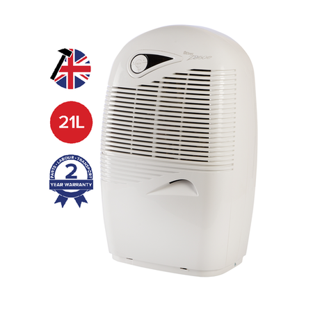 GRADE A2 - EBAC 2850e 21L Dehumidifier energy saving smart control for up to 5 bedroom homes with 2 year warranty