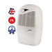 GRADE A1 - EBAC 2850e 21L Dehumidifier energy saving smart control for up to 5 bedroom homes with 2 year warranty