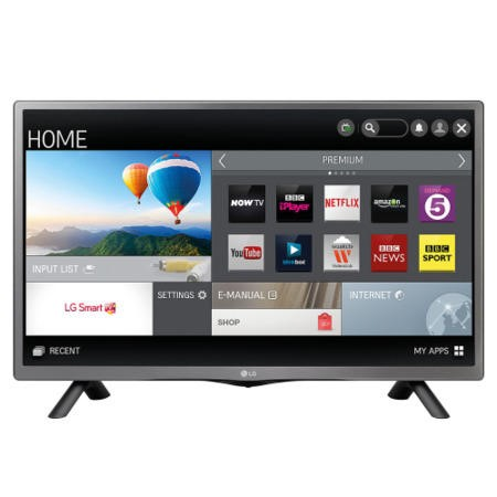 "LG 28LF491U 28"" HD Ready Smart LED TV with Freeview"