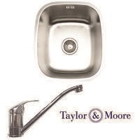 Taylor & Moore Ontario Undermount Single Bowl Stainless Steel Sink
