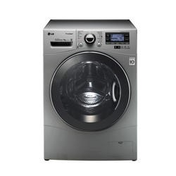GRADE A2 - Light cosmetic damage - LG F14A7FDSA5 Steam Direct Drive 9kg 1400rpm Freestanding Washing Machine - Silver