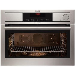 GRADE A3 - AEG KS8400501M ProSight Compact Height Touch Control Built-in Steam Oven Stainless Steel