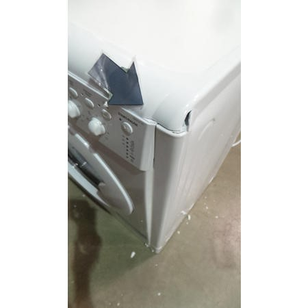 GRADE A3 - Heavy cosmetic damage - Indesit IWDC6125 6kg/5kg 1200rpm White Freestanding Washer Dryer