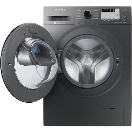 Samsung WW90K5413UX 9kg AddWash/ EcoBubble 1400rpm Freestanding Washing Machine - Graphite