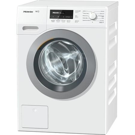 GRADE A1 - Miele WKB130 W1 ChromeEdition SoftSteam 8kg 1600rpm Freestanding Washing Machine White