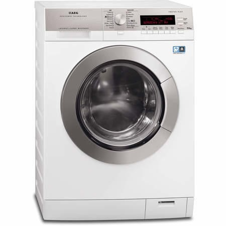 GRADE A2 - AEG L87695NWD 9kg Wash 6kg Dry Freestanding Washer Dryer White
