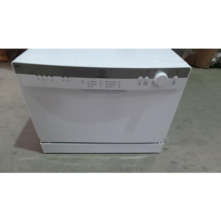 GRADE A3 - Indesit ICD661 6 Place Compact Dishwasher White