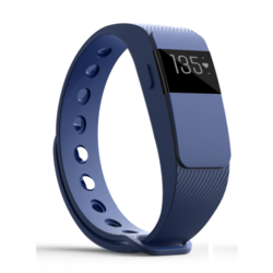 iQ FIT HR 2.0 Activity Fitness Tracker with Heart Rate + Extra Blue Wristband
