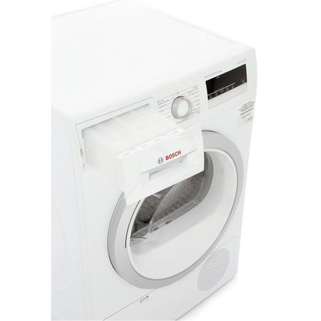 Bosch WTH85200GB 8kg Freestanding Heat Pump Tumble Dryer - White