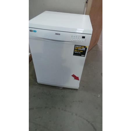 GRADE A2 - Zanussi ZDF26001WA 13 Place Freestanding Dishwasher White