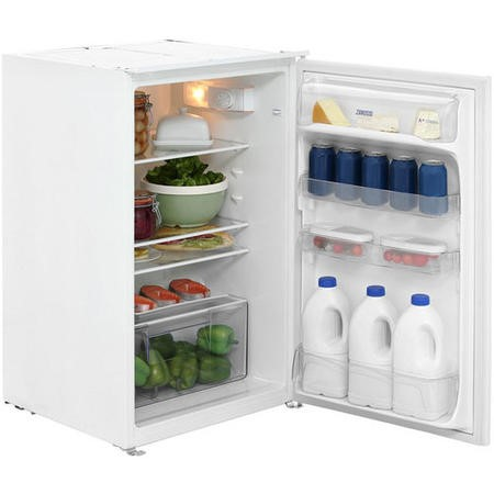GRADE A1 - Zanussi ZBA15021SA Sliding Rail In-column Integrated Fridge
